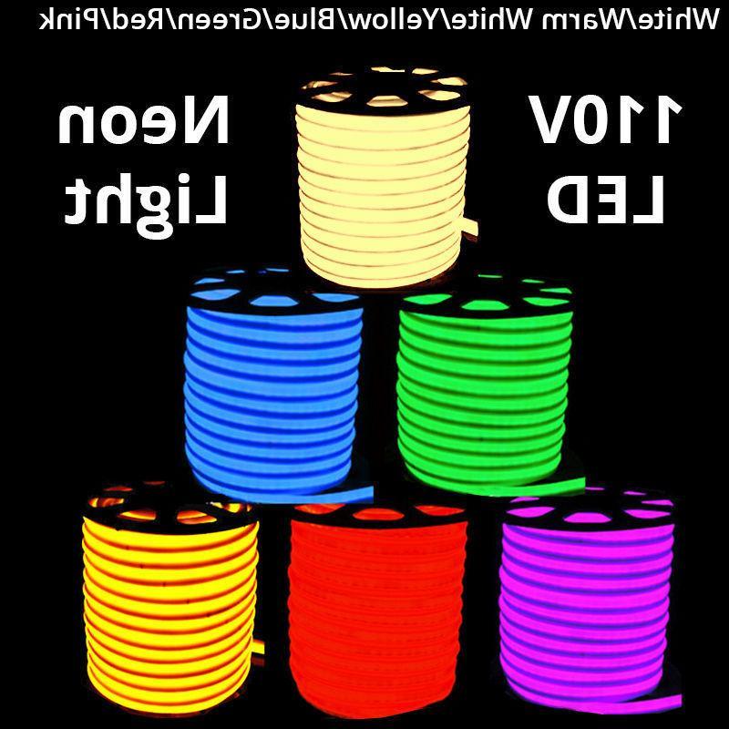 150 110v commercial led flexible neon rope