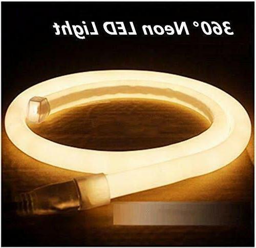 360 Neon Rope Light Garden Sign 110V 150ft