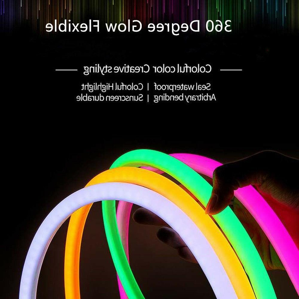 360° LED Rope DIY Project Outdoor 110V
