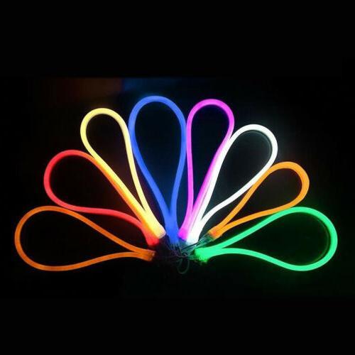 5M 2835 600LED Neon Tube LED Light Strip 12V Wire