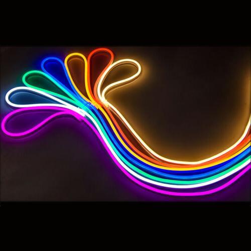 5M 2835 Tube Flexible LED Light Strip 12V Wire
