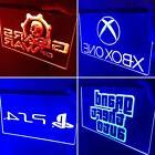 Arcade Set 4 LED Neon Signs PS4, Nintendo, Game Room , Arcad