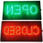 Bright LED 2 in1 Open & Closed Store Shop Business Sign 19x1