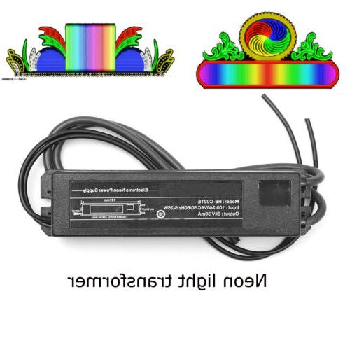 Electronic Neon Light Sign Transformer HB-C02TE 3KV 30mA 5-2