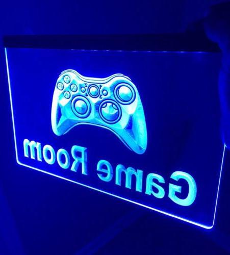"New Style Video Arcade Game Room Machine Neon Sign 20/""x16/"" Light Lamp Decor"