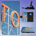 HOTEL SIGN NEON LETTERS FLIP CASE COVER FOR SAMSUNG GALAXY P