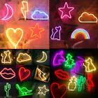 LED Neon Light Sign Wall Decor Night Fairytale Light Home Ro