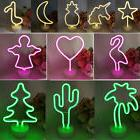 LED Neon Sign Light Multi-Shaped Lamp Party Banquet Decor Ho