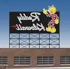 Miller's Reddy Kilowatt Animated Neon Sign O/HO Scale MILLER