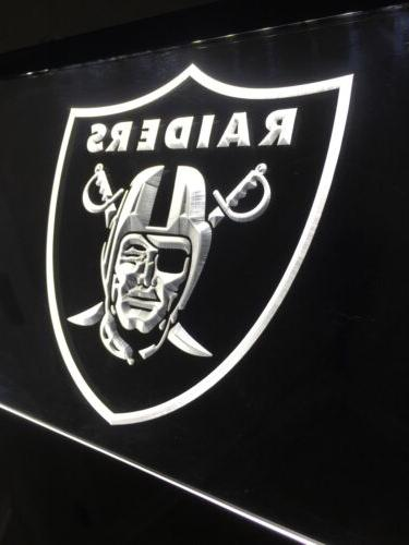 NFL LAS LED Neon Sign Game NEW!