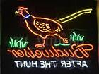 "New Budweiser Pheasant After The Hunt Neon Sign 24""x20"""