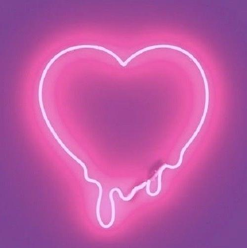 New Dripping Heart Bleeding Acrylic Red Color Neon Sign 14""