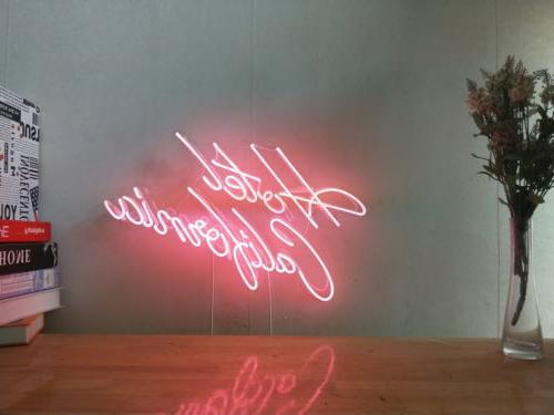 New Hotel California Neon Sign For Bedroom Wall Home Decor A
