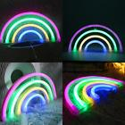 RAINBOW Neon Light Signs Decor Marquee Battery Or USB Operat