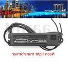 Universal Black HB-C02TE 50/60Hz 5-25W Glass Neon Sign Power