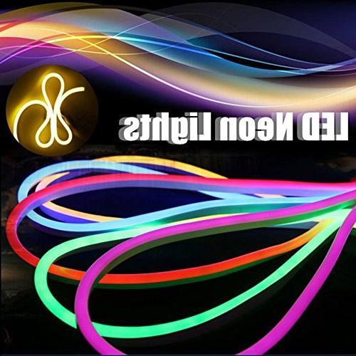 Vasten 30 ft LED Neon Rope Light 12V