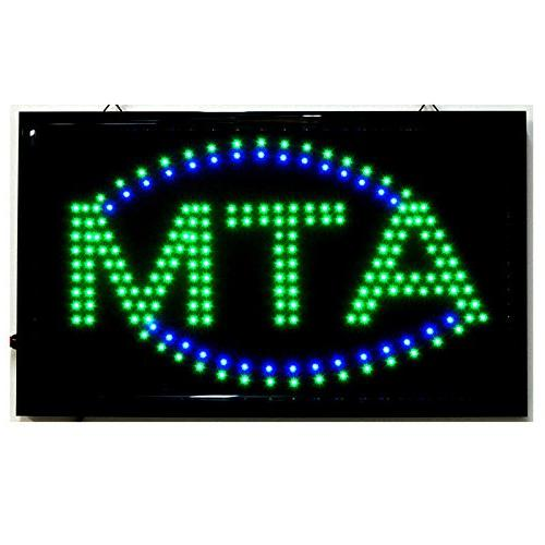 LARGE Animated LED ATM LED Neon Sign Bright Restaurant Store
