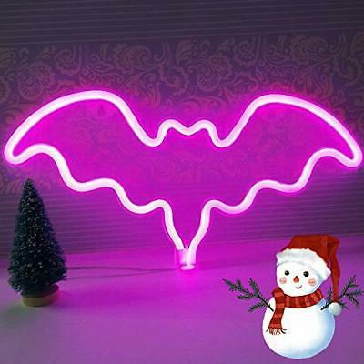 XIYUNTE Bat Neon LED Sign Wall