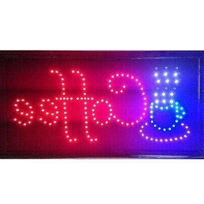 Boshen Sign LED Animated Motion Cafe Sign