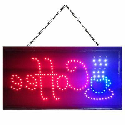 bright coffee cup sign led neon light