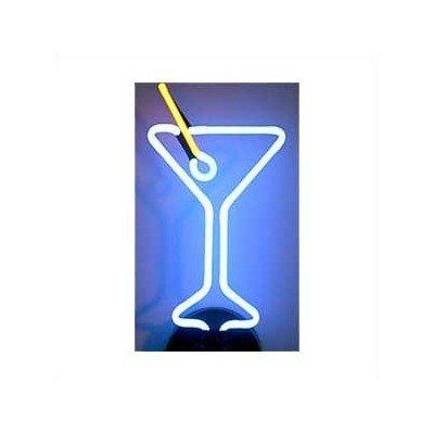 business signs martini glass neon
