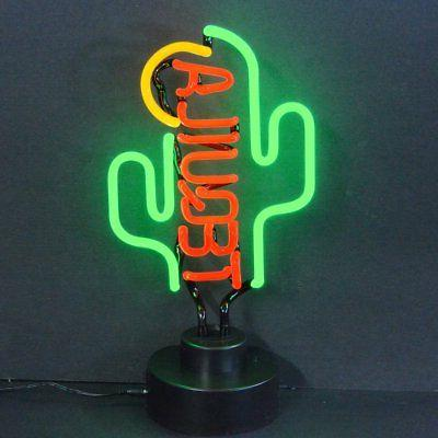 business signs tequila cactus neon sign sculpture