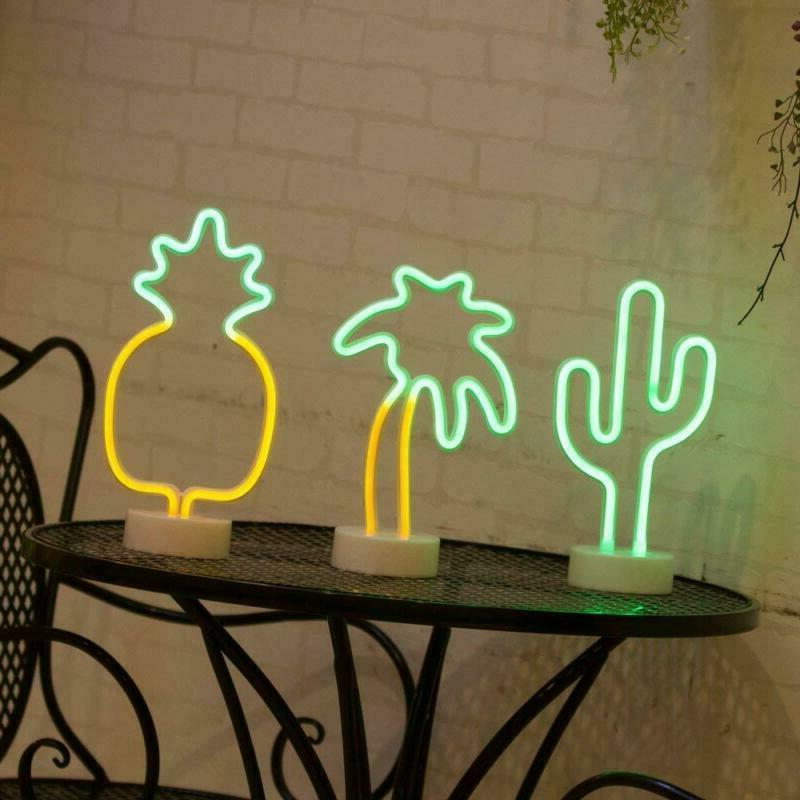 Cactus Signs, Neon Holder Base Supplies