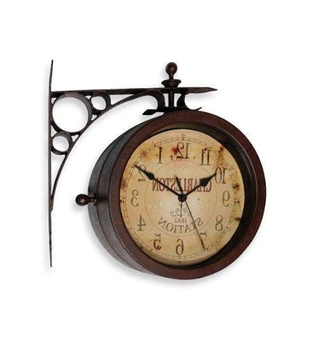 The Charleston Station Clock/Thermometer