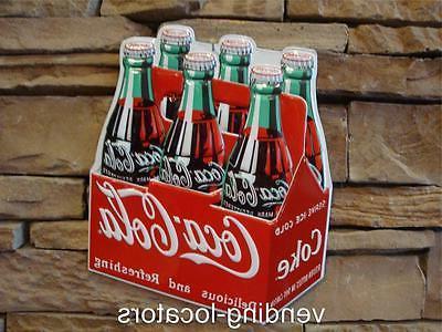 coca cola 6 pack in bottles die
