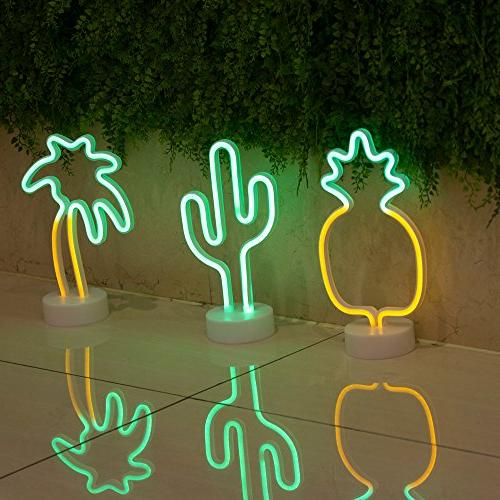 Coconut Palm Tree Signs, Sign with for Decorations, Children Kids Gifts