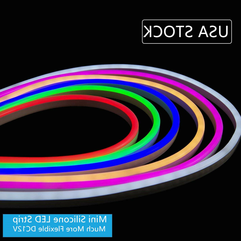 dc12v flex mini neon led rope light