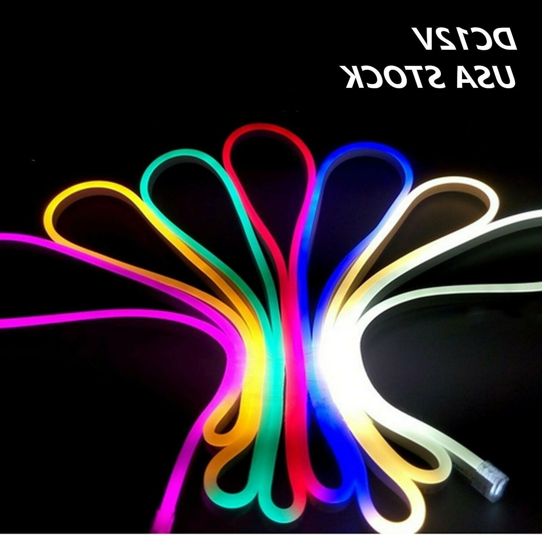 dc12v neon led rope light waterproof flex