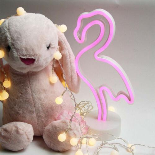 Flamingo Light LED for Kid Home+Base