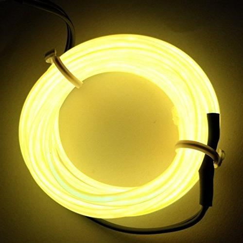flexible neon light glow el
