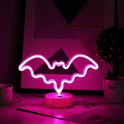 Halloween LED Neon with Base Holder Decor
