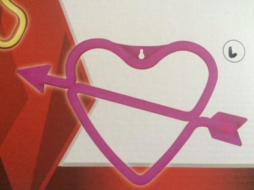 Heart Arrow Sign USB Light Romantic Decor