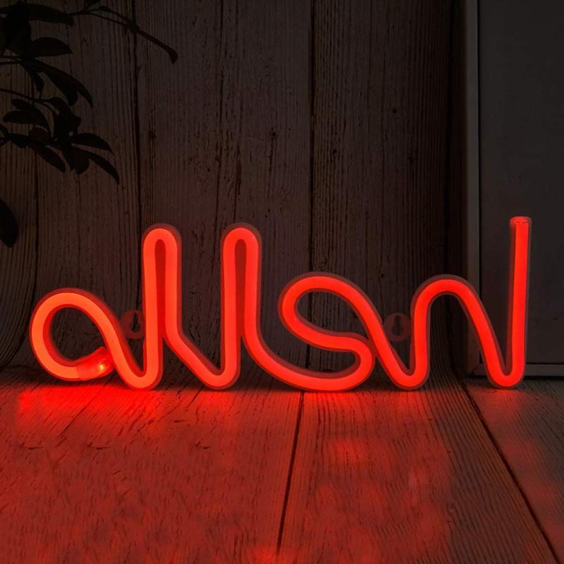 Hello Shape Neon Led Letter Neon Lights Words