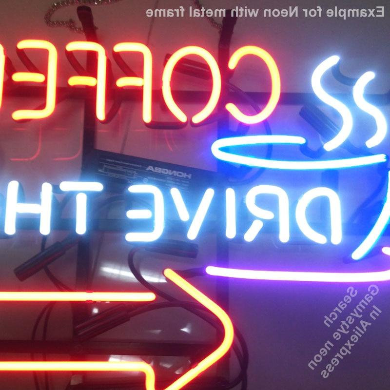 TRUCK Glass lights Recreation <font><b>Neon</b></font> <font><b>neon</b></font> for