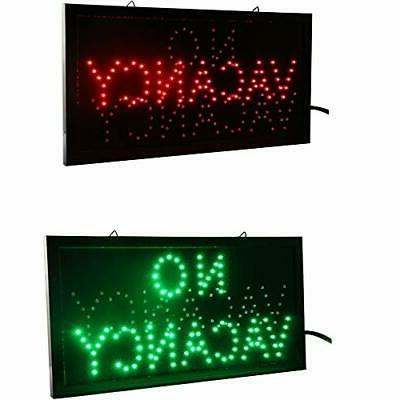 Hotel LED Open Sign Light Room Vacant Switch 48 25