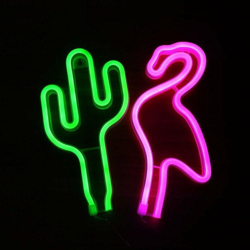 JJ Neon Night Light Nersery Lamp for Baby Child