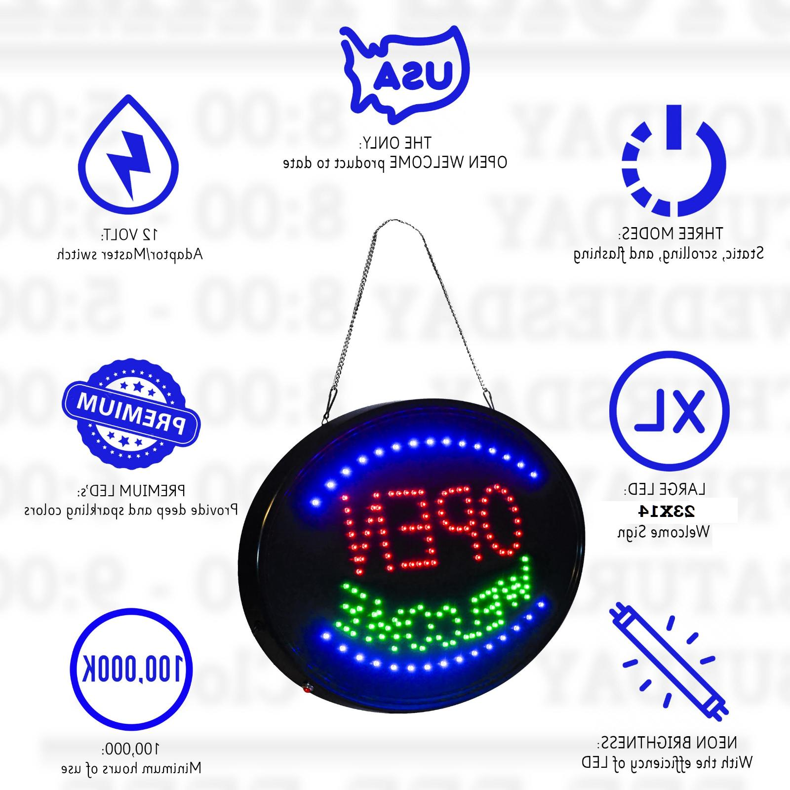 """LED MODE sign -THE Display 23"""" X 14"""""""