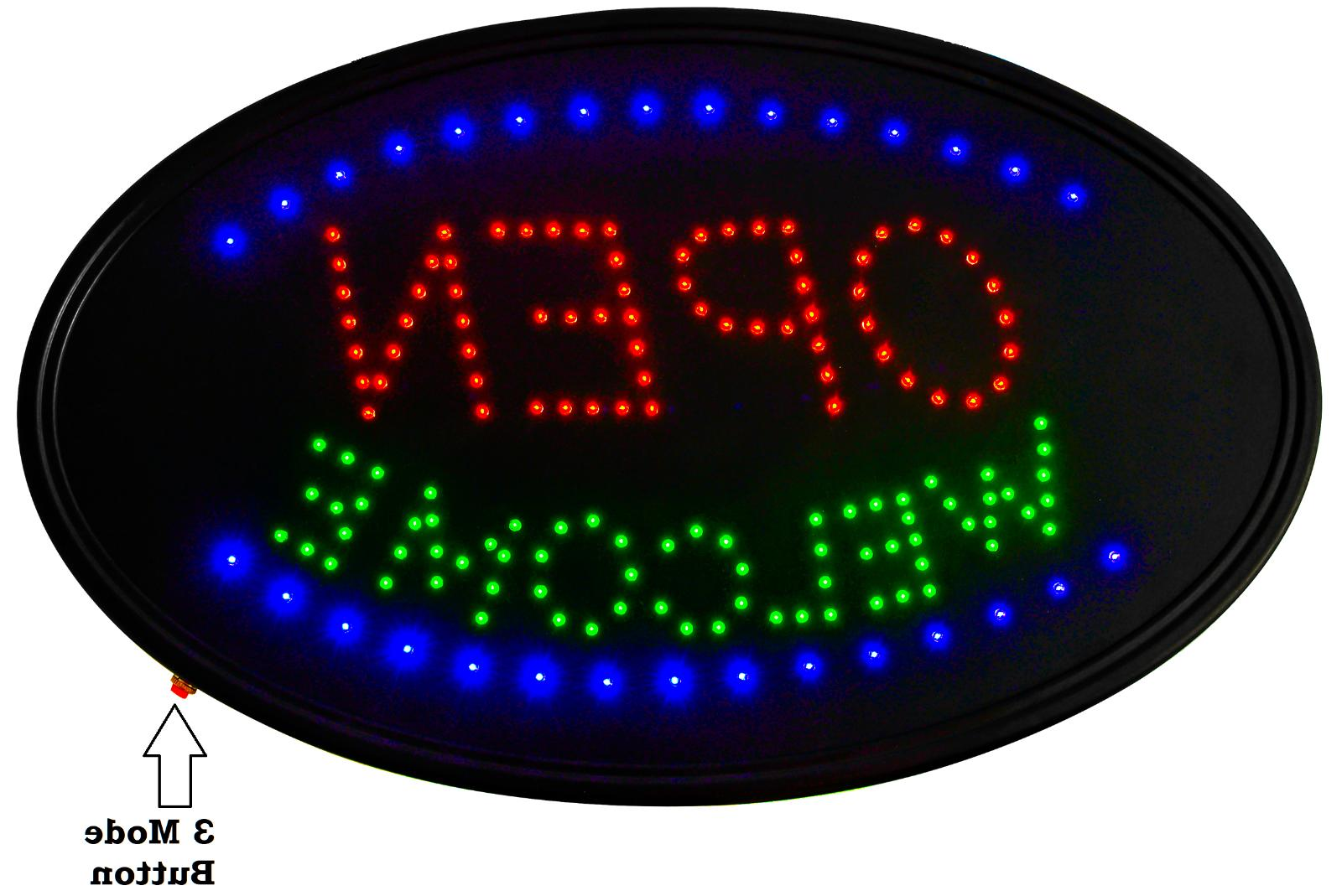 LED MODE Neon sign -THE Display