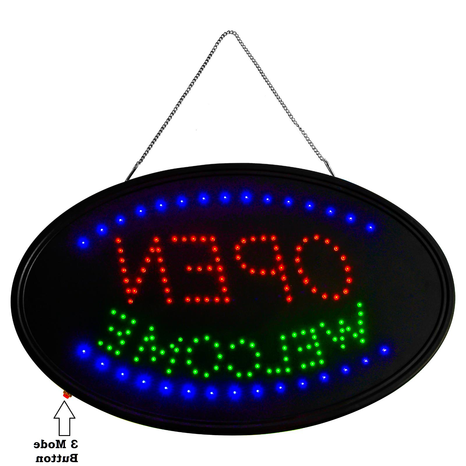 """LED 3 MODE sign WELCOME -THE BEST Display 23"""""""