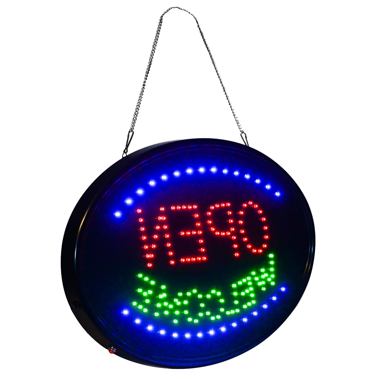 LED 3 sign OPEN -THE Display X