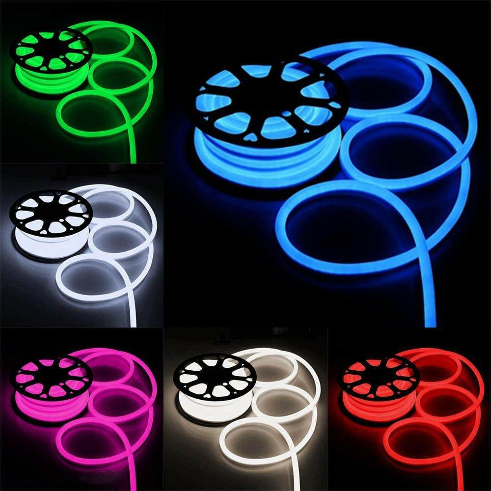 led flex neon rope light room party