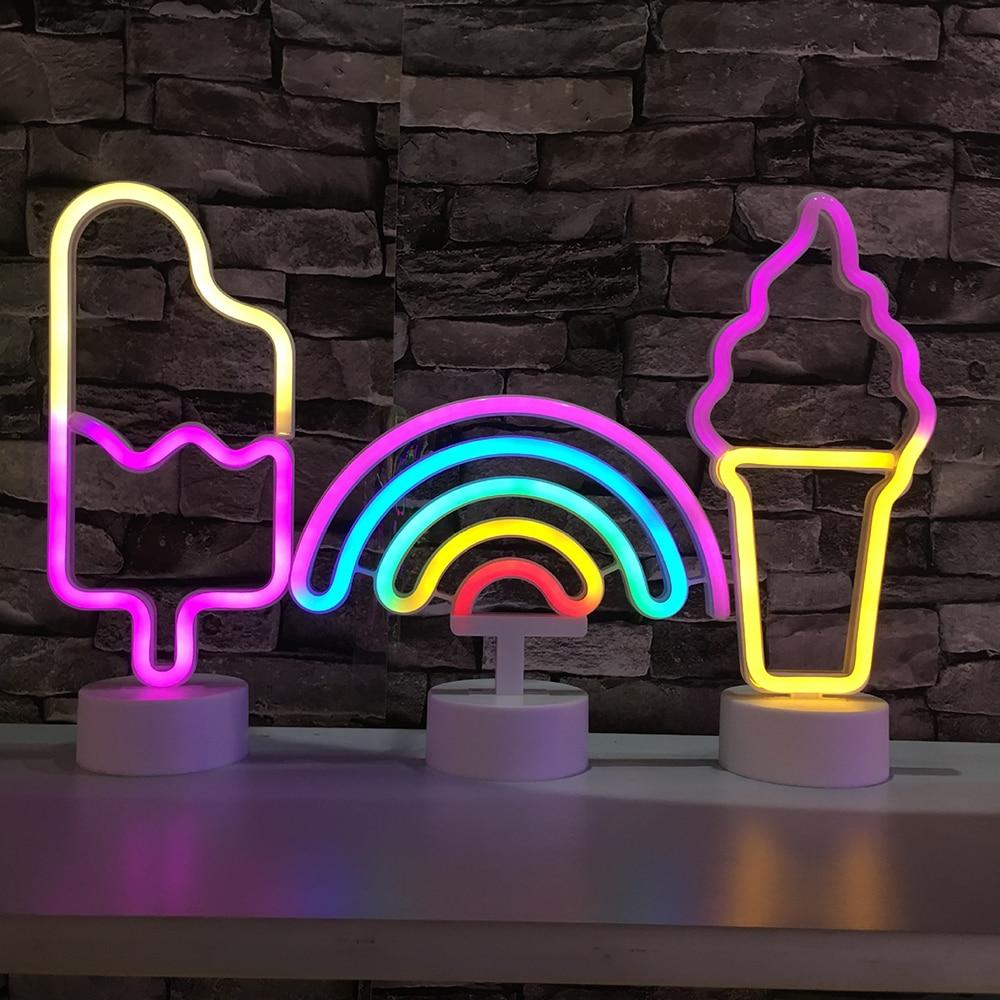 led font b neon b font light