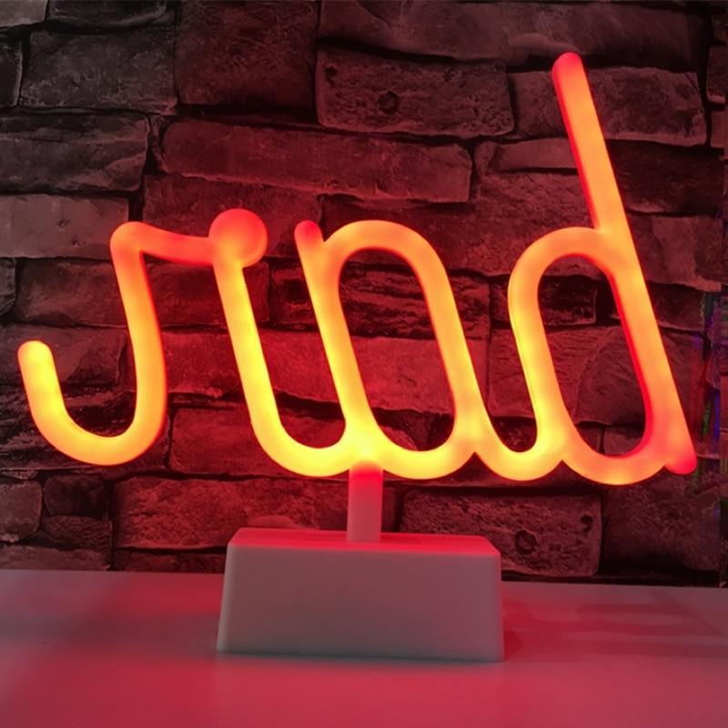 LED Bar Lights <font><b>Neon</b></font> Decor <font><b>Table