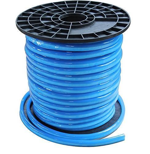 Vasten LED Neon Flex Tube Light 30 FT Blue Jacket Blue Light 12V Flex LED  Neon Waterproof Resistant, Accessories Included -