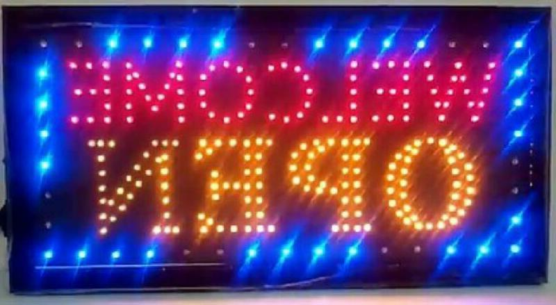 e onsale LED Neon Light Welcome Open Sign With Animation On/