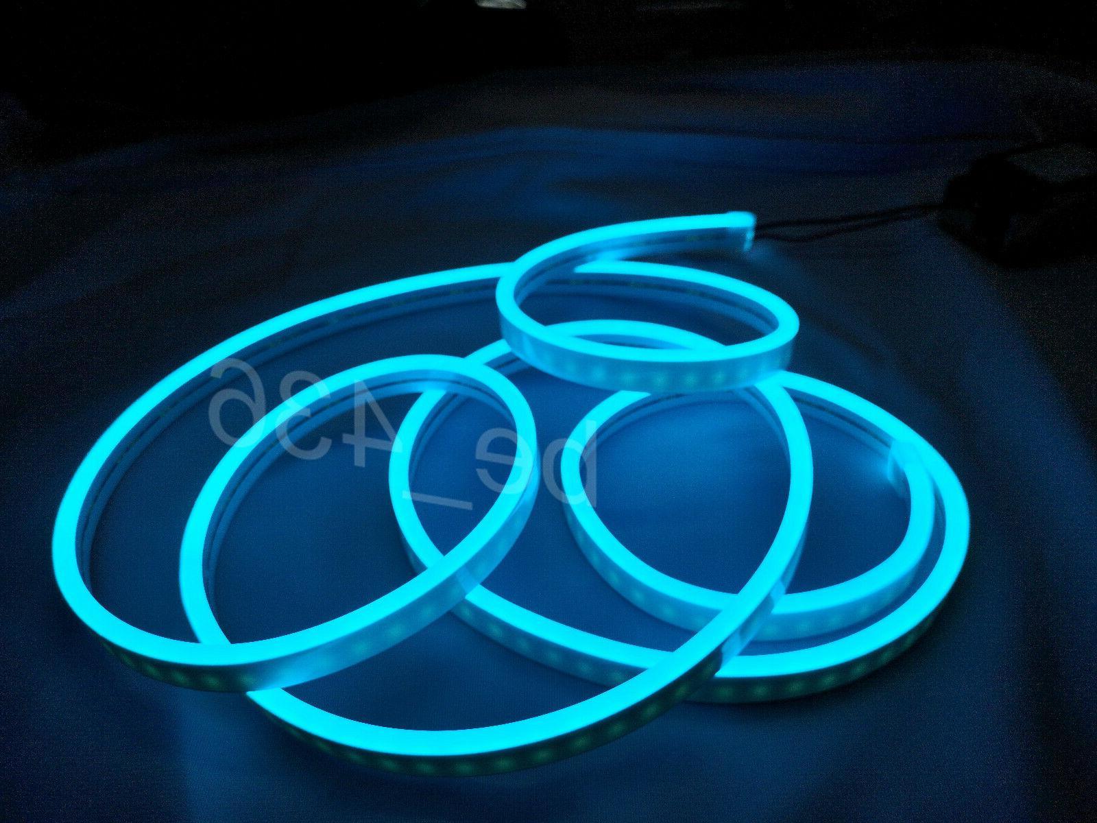 wholesale dealer ee455 b4fa6 LED Neon Rope Light Commercial Christmas Light Party Sign Decor In/Outdoor  DC12V